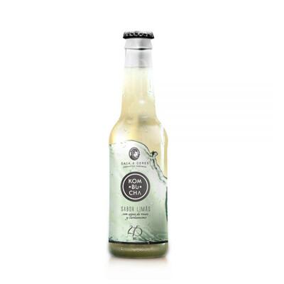 Kombucha de Limão (275 ml) - Gaia & Ceres