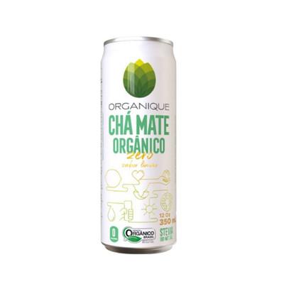 Chá Mate Orgânico Zero Limão (350ml) - Organique