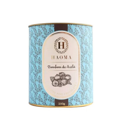 Bombom de Chocolate - Avelã (200g) - Haoma