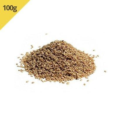 Gergelim Natural Com Casca (Granel 100g)