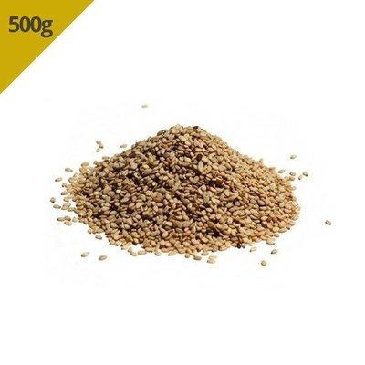 Gergelim Natural Com Casca (Granel 500g)