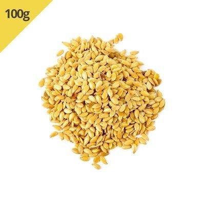 Semente de Linhaça Dourada (Granel 100g)
