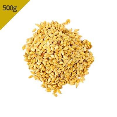 Semente de Linhaça Dourada (Granel 500g)