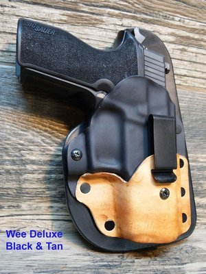 Wee Deluxe - IWB Light or laser baring Holster