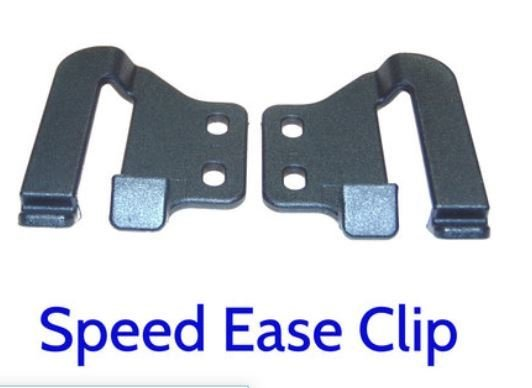 SpeedEase OWB belt clips