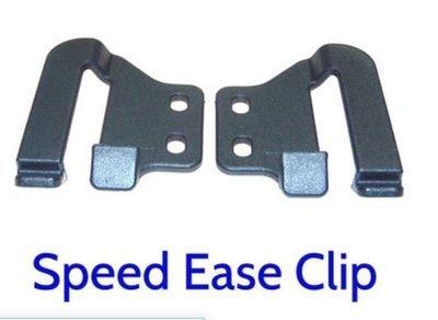 SpeedEase OWB belt clips