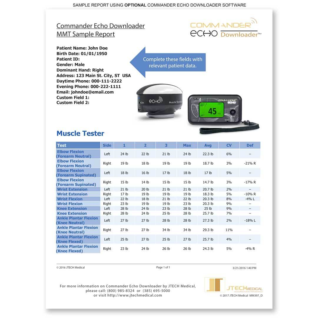 Commander Echo Downloader Software