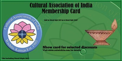 Diwali Annual Pass 2019-2020 - CHILD (5-18), PERFORMER and STUDENT