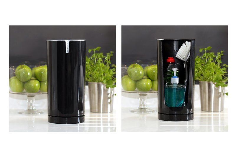 Black Gloss Pavara Sink Tidy
