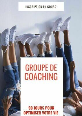 Défi coaching 90 jours - Groupe d'Alexandra Stellini