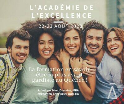 L'Académie de l'Excellence 2020