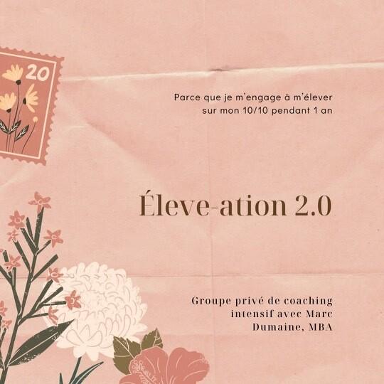Programme annuel - Éléve-ation 2.0