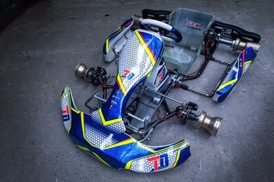 TD Racing Kart shifter chassis