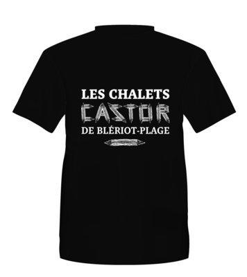T-shirt Les Chalets Castor