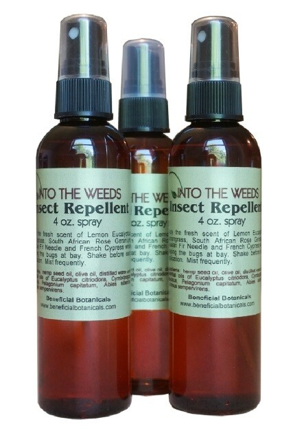Into The Weeds Insect Repellent