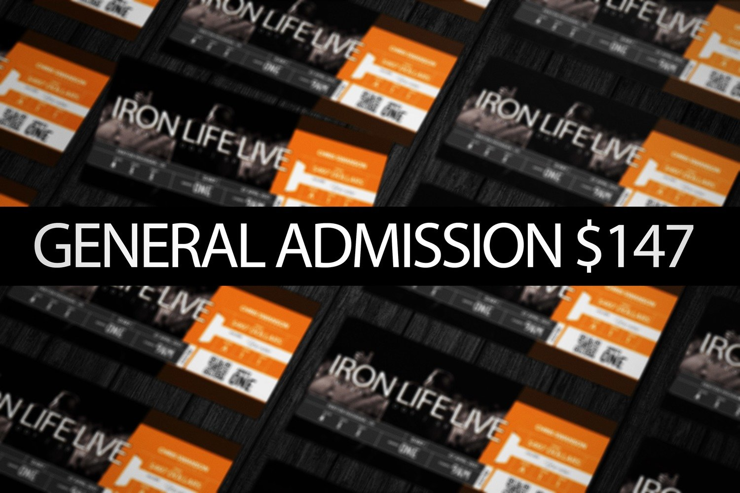 IRON LIFE LIVE - General Admission