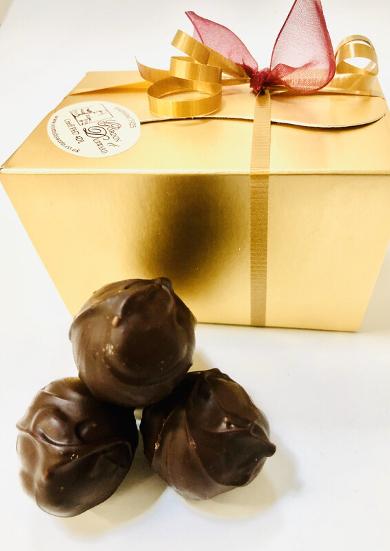Chocolate of the Month Arran Gold Truffle