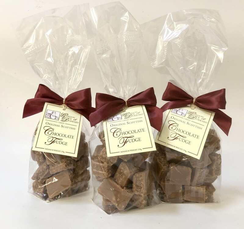 3 Bags of our Mouth Watering Chocolate Fudge