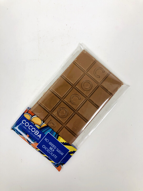 Cocoba - No Added Sugar Milk Chocolate