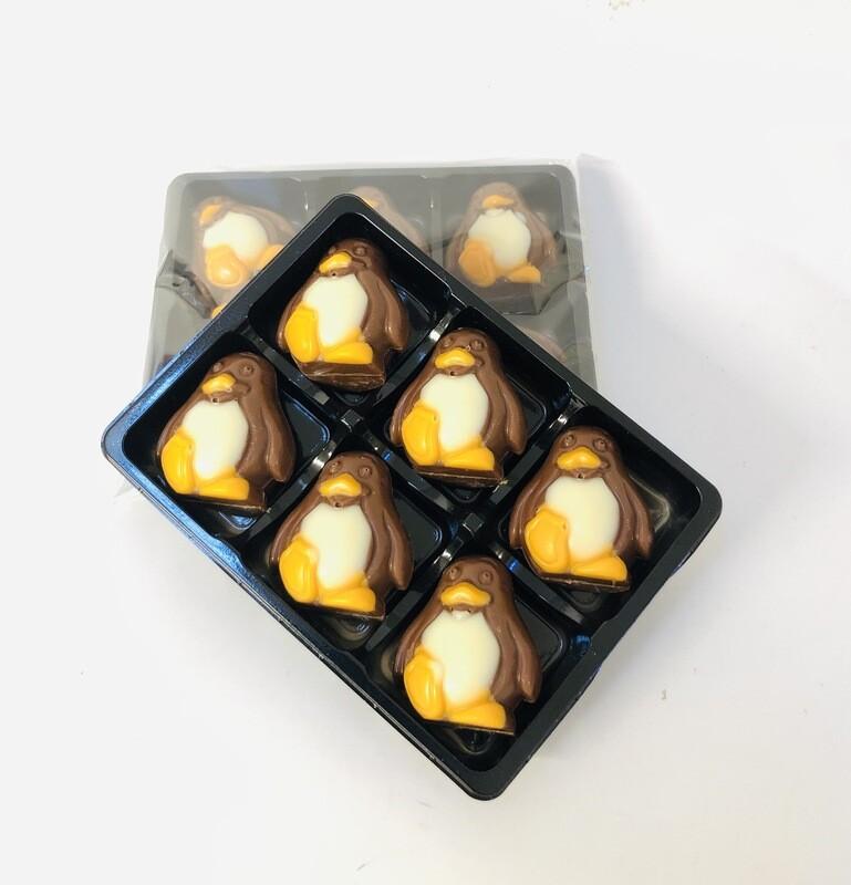 Milk Chocolate Penguins