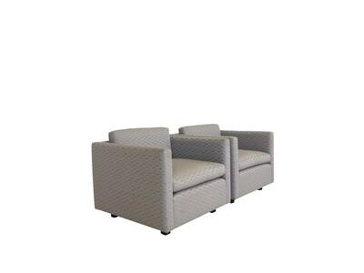 Pair of Vintage Modern Club Chairs