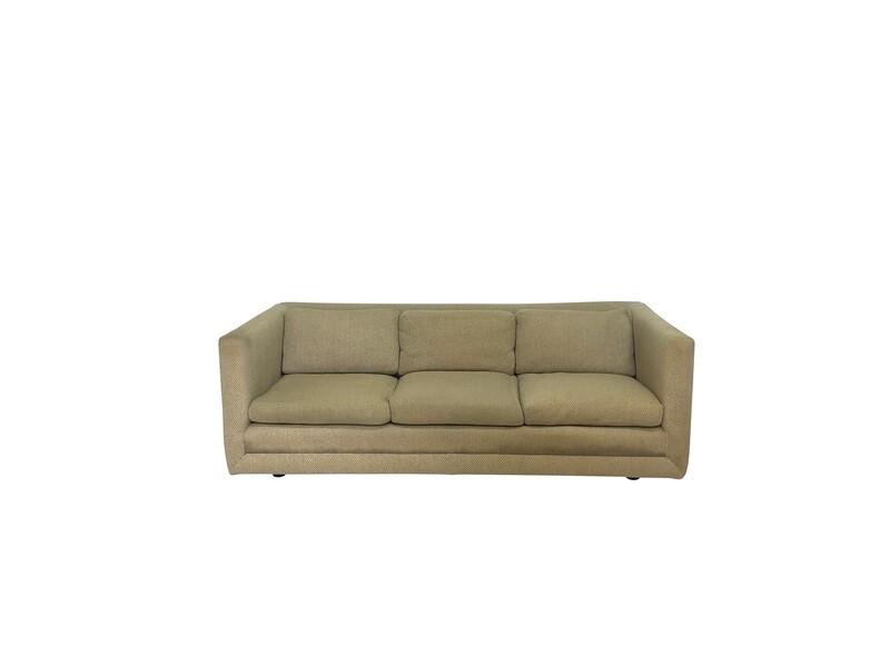 Mid Century Harvey Probber 3 Seated Sofa
