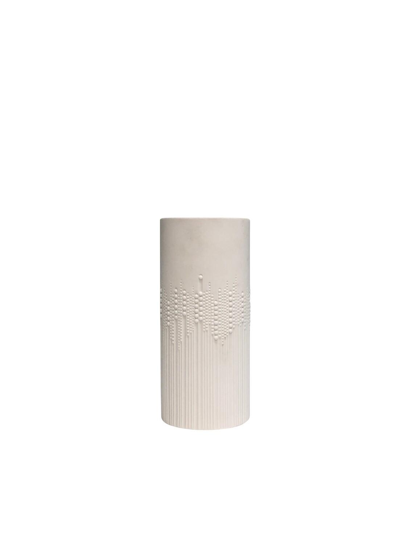 Mid Century Rosenthal White Procelain Vase Designed by Tapio Wirkkala