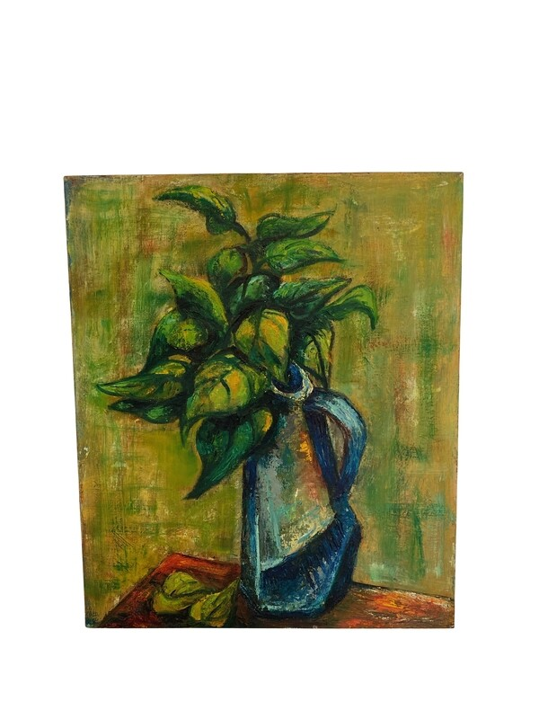 Beautiful Floral Oil Painting by Mildred Simon