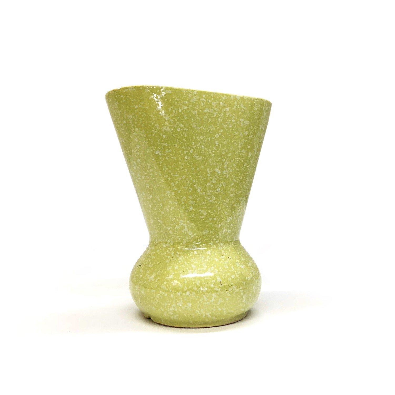Mid Century Retro Shawnee Ceramic Vase in Green