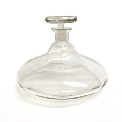 Mid Century Large Glass Decanter
