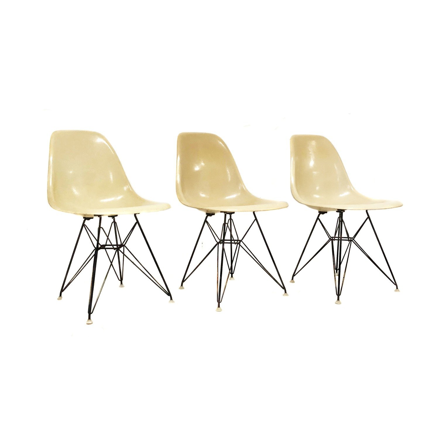 Mid Century Modern Signed Charles Eames for Herman Miller Eiffel Shell Chair