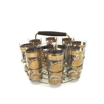 Vintage Madmen Style Barware Set