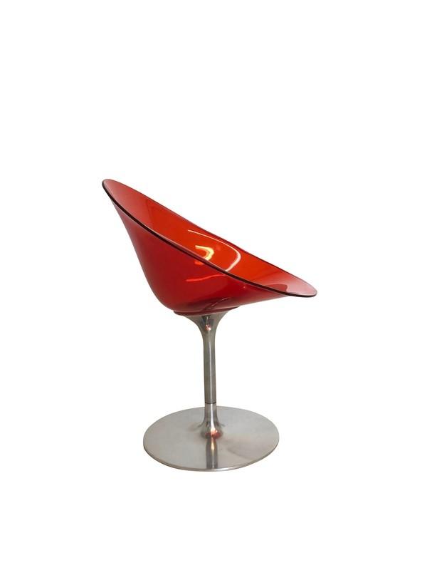 Phillippe Starck for Kartell Orange Eros Chair in Orange