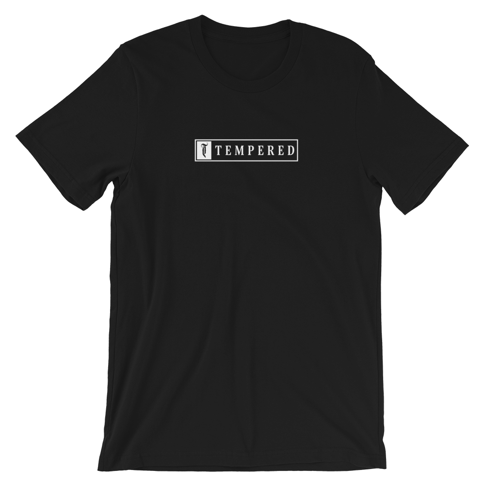 Tempered Box Logo T-Shirt - Black