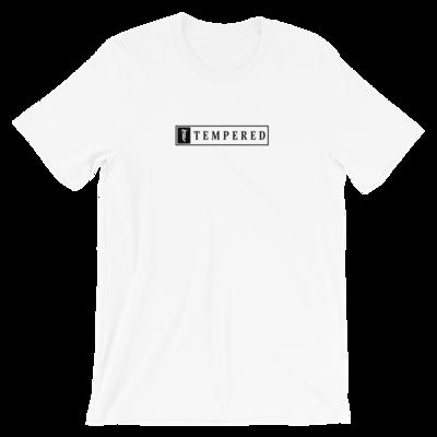 Tempered Box Logo T-Shirt - White