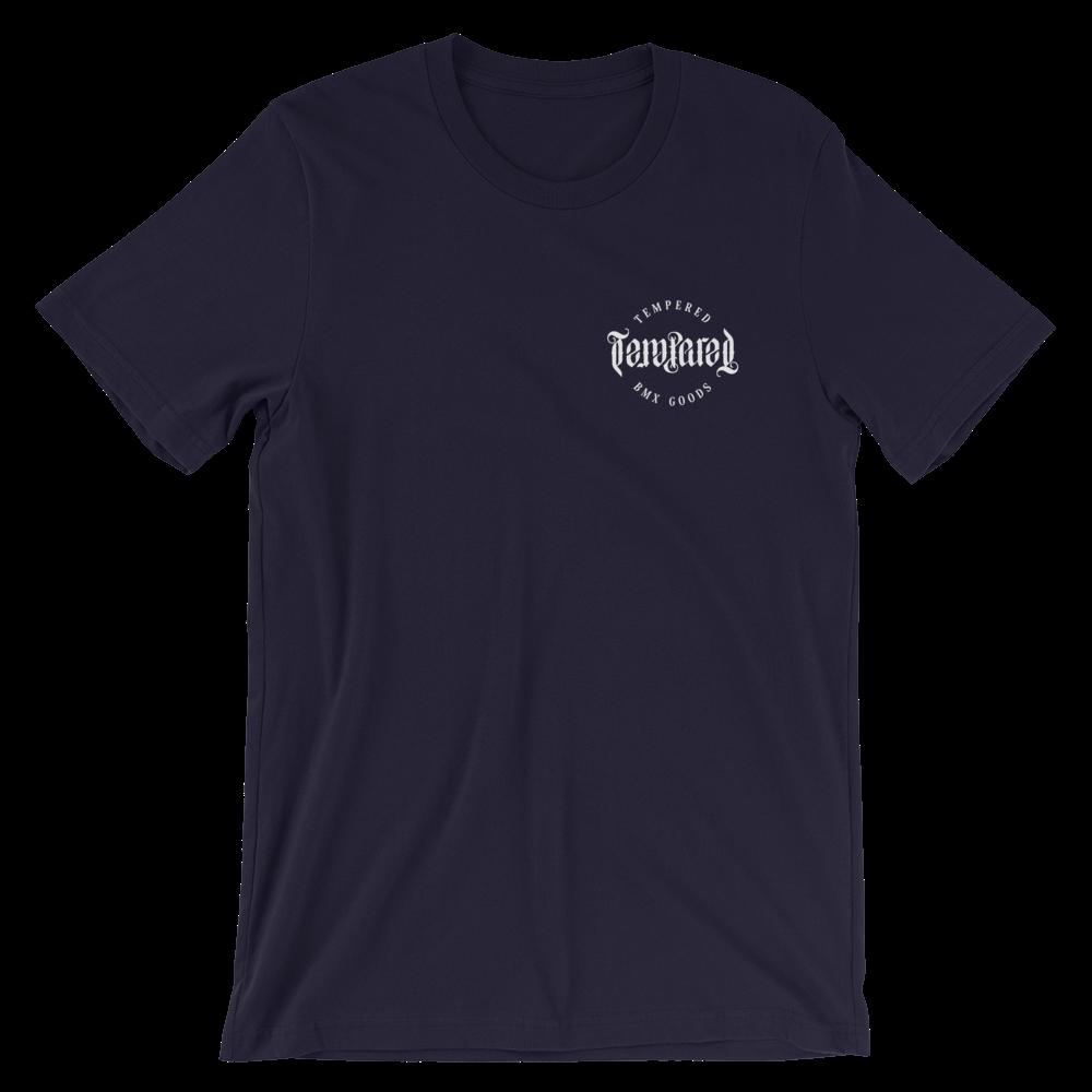Tempered BMX goods T-Shirt - Navy