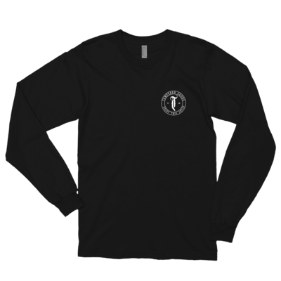 Tempered Circle Abyss Logo - Long sleeve t-shirt - Black