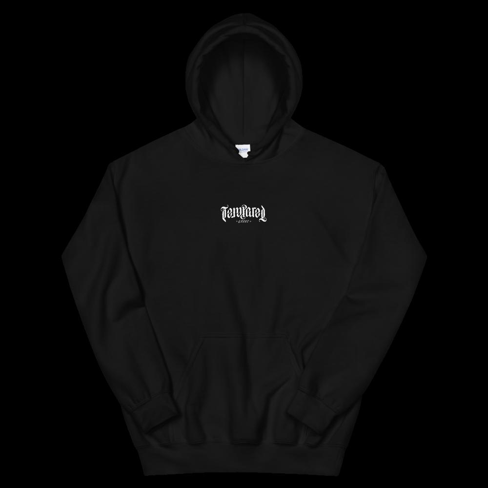 Tempered Ambigram Logo Hoodie - Black