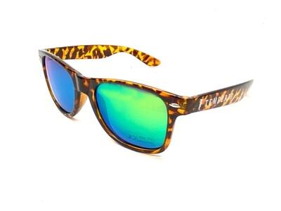 Tempered Polarised Sunglasses - V2 Tortoise