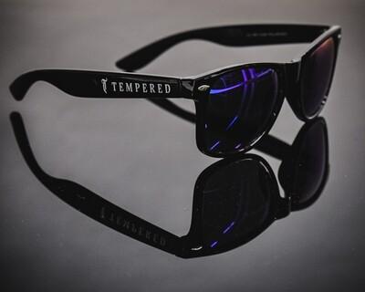 Tempered Polarised Sunglasses - V2 Black