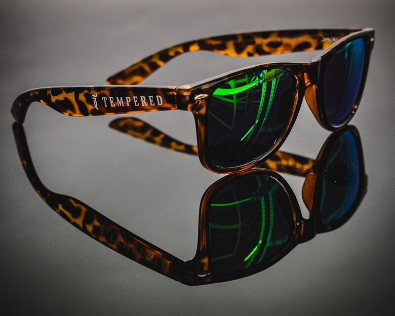 Tempered Polarised Sunglasses - V2 Tortoise