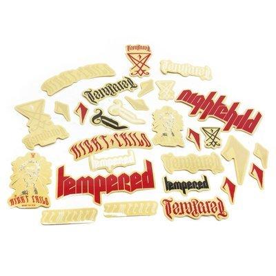 Tempered Night Child BMX stickers