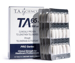 NEW TA-65® 60 Tablet PRO Series (500 Unit) designed for Doctors