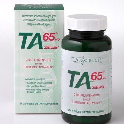 TA-65MD® 90 caps (250 units) 150% stronger dosage than the 100 units and up to 3 months supply.