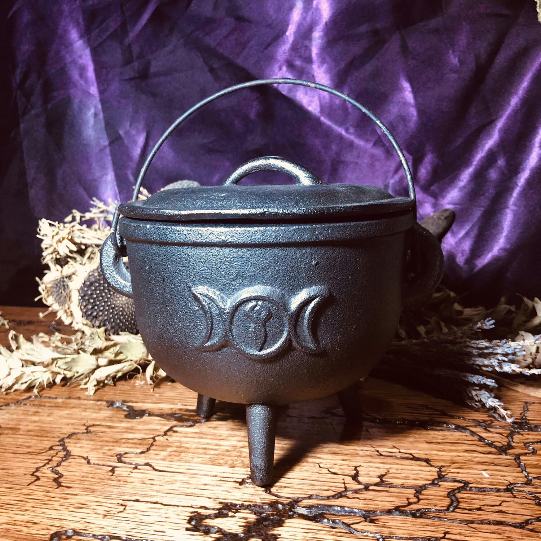 Triple Moon Large Cauldron