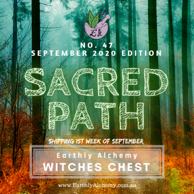 SEPTEMBER 2020 < SACRED PATH >  Witches Chest no. 47