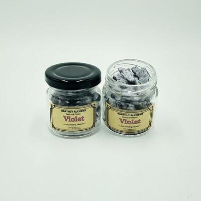 Violet Resin - Jar