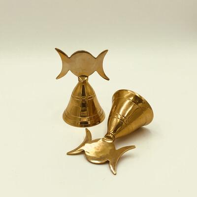 Triple Moon Bell Brass