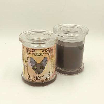 Black Cat Candle