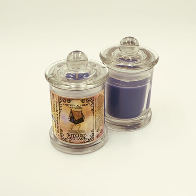 Witches Cottage Small Candle